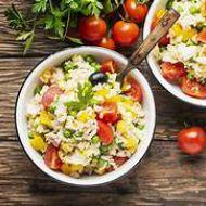 Immagine ricetta Insalata di riso alleggerita